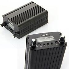 New CZE-7C 7W Stereo PLL FM Transmitter Broadcast Radio Station Kit - Original