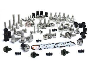 Fairing Body Bolts Kit Fastener Clips Screws to Fit HONDA VFR800 FI 1998-2001