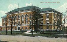 c1910 Eastern High School, Detroit, Michigan Postcard