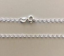 Sterling Silver Belcher Rolo Necklace Chain 75cm 1.50mm Genuine Solid 925 30""