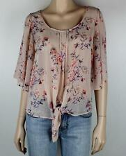 SZ 10 TARGET FLORAL TOP BLOUSE  *BUY 5 OR MORE ITEMS GET FREE POST* #903