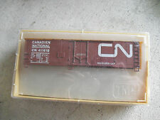 Vintage HO Scale TMI Train Miniatures Canadian National Box Car Kit NIB 3213
