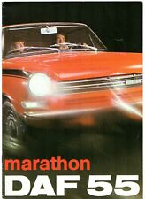 Daf 55 Marathon 1971-72 UK Market Sales Brochure Saloon Coupe
