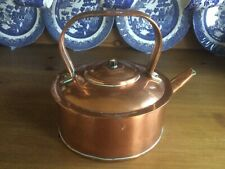 Vintage Decorative Copper Kettle With Handle