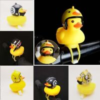 Small Speak Yellow Duck Bicycle Bell Light Head Lights Cartoon Bike Accessories