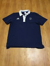 France Naional Rugby Adult Medium Blue Nike Rugby Union Jersey