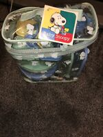 VINTAGE Peanuts Baby Snoopy Infant & Toddler Feeding Set *NEW WITH TAGS*