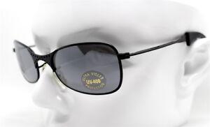 Sunglasses Men Black Rettangolare ottagono Mirror Sunglasses Steampunk