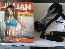 Jillian Michaels Body Revolution (Includes 15 Dvd'S and Resistance Band)