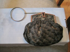 vintage clutch purse Snap Lined Small free shipping