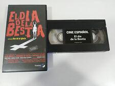 EL DIA DE LA BESTIA ALEX DE LA IGLESIA SANTIAGO SEGURA VHS CASTELLANO SPAIN E &