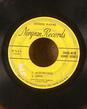 "Johnny hodges 7"" Norgran jazz EP 45 hodgepodge jappa my reward FR"