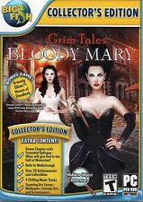 Grim Tales Bloody Mary PC Games Windows 10 8 7 XP Computer hidden object mystery