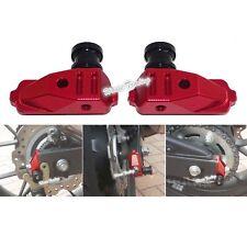 Swingarm Spools Adapters Red For HONDA CBR500R PC44 CB500F PC45 CB500X PC46 US