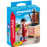 Playmobil Kebab Vendor Building Set 9088 NEW Toys Kids Educational Learning