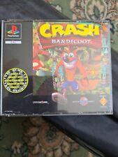 Crash bandicoot.. ps1 Platinum, Retro gaming...complete...