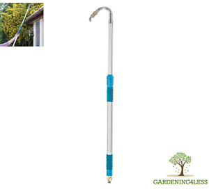 FloPro Telescopic Gutter and Drainage Cleaner Garden Hose Attachment