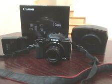 Canon PowerShot G5 X 20.2MP 24mm 4.2x Zoom Black Digital Camera Full HD WiFi