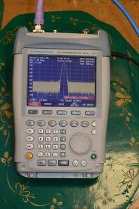 Rohde & Schwarz FSH3 Spectrum Analyzer with Tracking Generator, Damaged Plastic