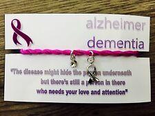 Alzheimer Dementia Awareness Bracelet