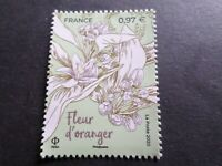FRANCE 2020, FLEUR d' ORANGER, GRASSE ET MEDITERRANEE, neuf**, FLOWERS, MNH
