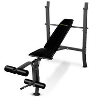 Goplus Adjustable Weight Lift Flat Incline Bench Fitness Body Strength Workout