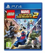 Lego Marvel Super Heroes 2 PS4 NEW SEALED DISPATCHING TODAY ALL ORDERS BY 2 PM