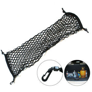 Car Trunk Cargo Net Cord Storage Mesh Adjustable Luggage Rack Elastic 90*30cm