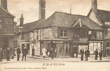 More details for vintage bedfordshire postcard, a bit of old luton, the wrench series no.3431 jx5
