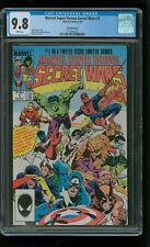 Marvel Super Heroes Secret Wars #1, 2nd Print, CGC 9.8 NM/MT (Only 5 in Census)