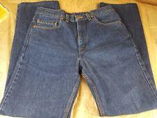 Levi's 517 Boot Cut Dark Wash Denim Jean, ACTUAL size 34x31 EUC