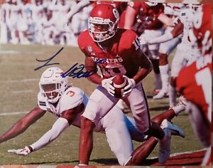 OKLAHOMA THEO WEASE SIGNED AUTOGRAPHED 8X10 TOUCHDOWN PHOTO