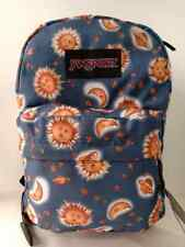 JanSport Backpack Superbreak School Bag Book Back Pack Moon And Sun - Unisex