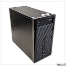 PC HP Prodesk 400 G1 MT INTEL CORE I3-4130 3.40GHZ 4GB 500GB DVD W10 PRO P1260