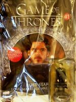 Game Of Thrones GOT Official Collectors Models #41 Robb Stark (Red Wedding) NEU