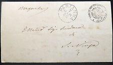 Italia ufficio del registro 1890 part Anna ufficiali lettera ITALIA IT Post (Lot i-392