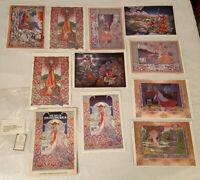 The Art of JIM FITZPATRICK 10 Print Portfolio Signed De Danna Press Vintage 1977