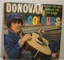 "DONOVAN-Colours > PE-Single 7"" VINYLE, 4 titres, PYE France"