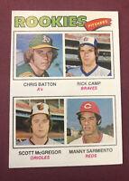 1977 Topps #475 Scott McGregor ROOKIE card Baltimore Orioles NM/MT Free ship