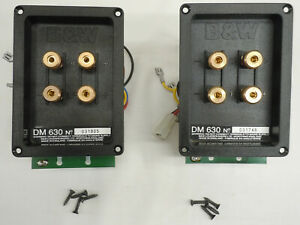 1 B&W Bowers Wilkins Replacement DM630 Series Crossover & Binding Posts Module