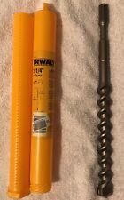 "Dewalt DW5727 1-1/4"" 11"" X 16"" 2-Cutter Spline Shank Rotary Hammer Bit *NEW*"