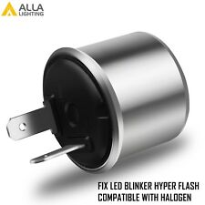 Alla Lighting Turn Signal Hazard LED Flasher Relay EF32 2Pin,No Fast Hyper-flash