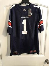 Under Armour Auburn Tigers Football Jersey #1 Men's Size Large *H