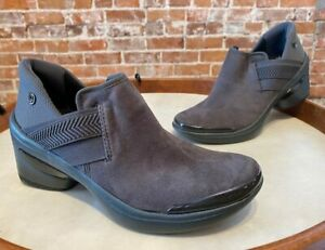 Bzees Grey Enhance Slip On Bootie Ankle Shootie 8 New