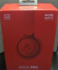 Beats by Dr. Dre Solo Pro On Ear Wireless Headphones - Red