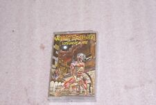 Vintage Cassette Tape Iron Maiden Somewhere In Time 4XJ12524