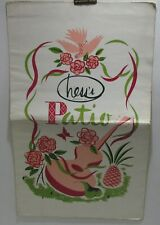Vintage Hess Department Store Patio Restaurant Menu, Allentown, PA