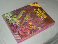 TSR 1st Ed - DUNGEONS & DRAGONS BASIC SET (RARE with SEALED TSR DICE & CRAYON!!)