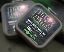 Korda Dark Matter Tungsten Coated Braid - Green or Brown 18lb or 25lb