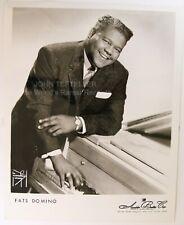 ORIGINAL 1950's 8x10 Publicity Photo Fats Domino Soul
